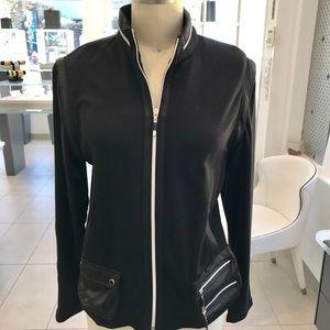 Never Worn Jamie Sadock Black Golf Jacket Medium
